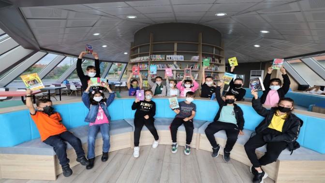 Başiskele Çocuk Kütüphanesi'nde Atölye Çalışmalarına Yoğun İlgi