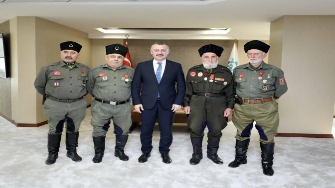 Başkan Büyükakın: Türk milleti şehitlik ve gaziliği en büyük rütbe bilmiştir
