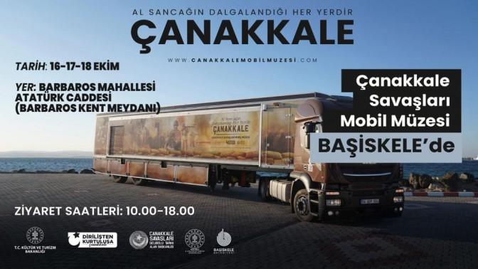 Çanakkale Savaşları Mobil Müzesi Başiskele'ye Geliyor