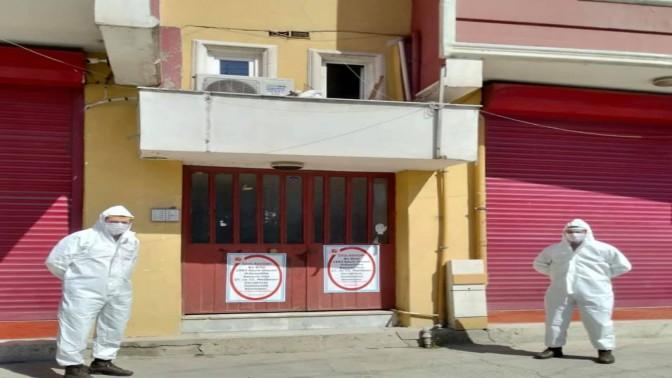 İzmit'te bir bina daha karantinaya alındı