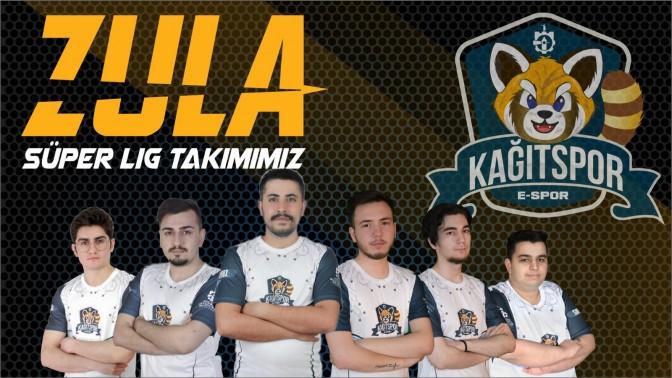 Kağıtspor Espor, Süper Ligde mücadele etmeye başladı