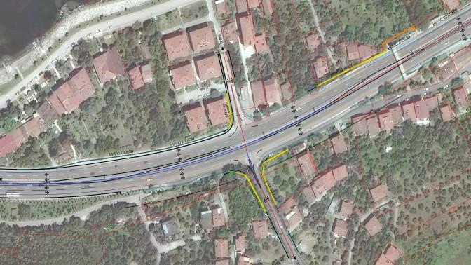 Karamürsel Tepeköy'de D-130 üzerine kavşak yapılacak