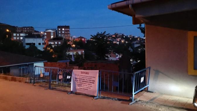 Kocaeli'deki O sokağa karantina şoku