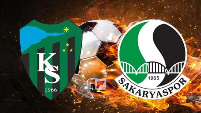 Kocaelispor - Sakaryaspor maçı ne zaman, hangi kanalda, saat kaçta?