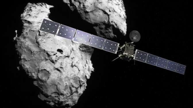 Rosetta'nın misyonu sona erdi