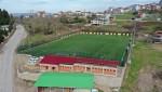 Bahçecik Stadı Spor Tesisi'nde Çalışmalar Sürüyor