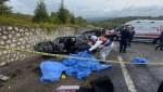 Efe Tur otobüsü devrildi 3 kişi hayatını kaybetti