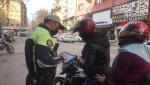 Trafik Uygulaması!nda Bin 60 Araca İşlem Yapıldı
