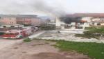 Körfezde yangın 1 kişi hayatını kaybetti